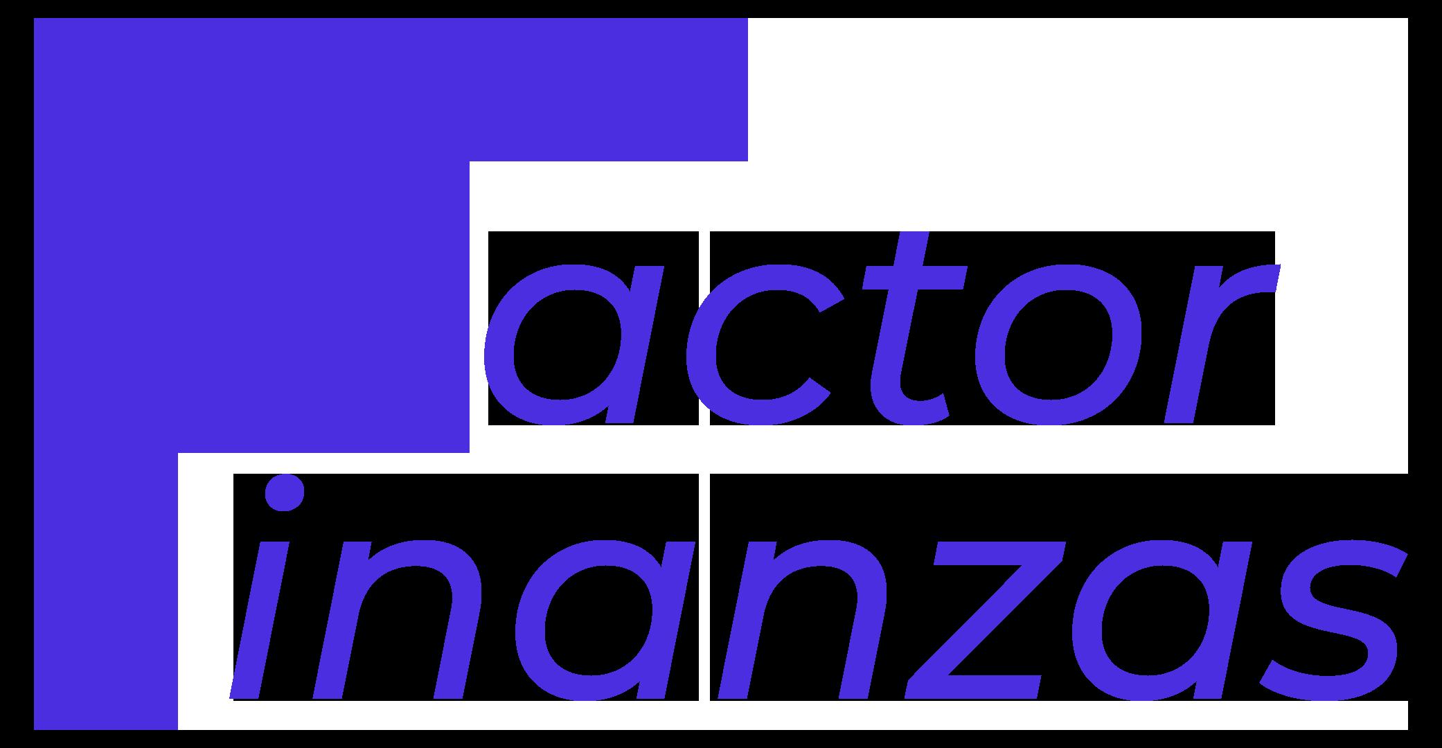 Logo Factor Finanzas Azul